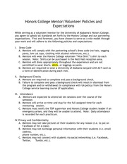 Student Policy Agreement
