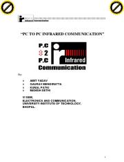 PC TO PC INFRARED COMMUNICATION.pdf