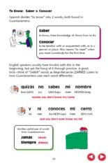Saber Vs Conocer Worksheet 025 - Saber Vs Conocer Worksheet