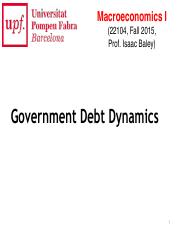 MacroIF15 - Lec12 - Government Debt Dynamics.pdf