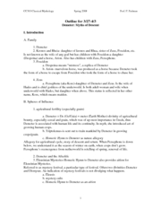 Lecture Notes-Demeter