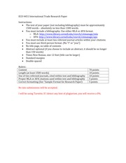 Research Paper Instructions and Rubric(2)