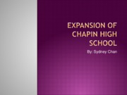Chapin Expansion