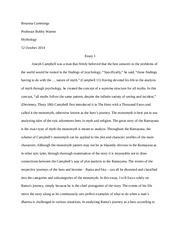 hum mythology valencia page course hero 5 pages essay 1 myth ra ana