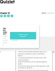 Chapter 10 Flashcards | Quizlet
