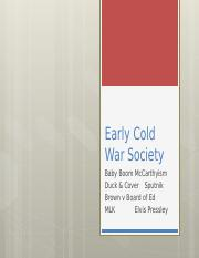 19 Early Cold War Society (1)