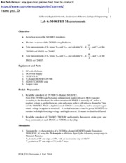 Lab 6 MOSFET Measurements.pdf