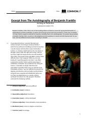 Autobiography of BenFranklin (8).docx