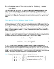 Gaussian Elimination Notes