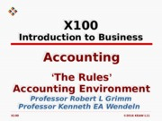 L11 Accounting The Rules