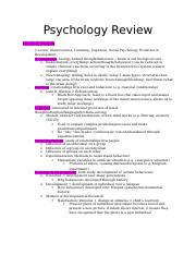 Psychology-1X03-Review 2.docx