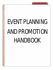 Sample_Event Planning and Promotion Handbook(1)