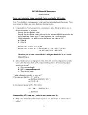 Financial Management HW 4