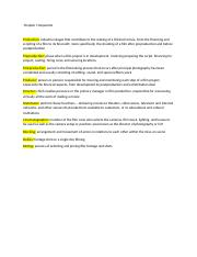 FILM Keywords & Summaries Chapters 1 & 2.docx