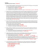 The Hardy Weinberg Equation Worksheet Answers - Nidecmege