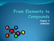 Chapter 4 Study Guide on Introduction to Chemistry