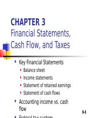 3. Chapter 3- FINANCIAL STATEMENTS, CASH FLOW .ppt