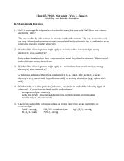 Chem 115 POGIL Worksheet - Week 4 Moles & Stoichiometry ...