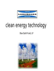 Clean Tech2.ppt