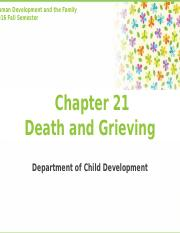 Chapter21. Death and Grieving 2016.pptx