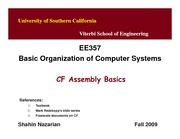 Unit5-CFAssembly-EE357-Nazarian-Fall09