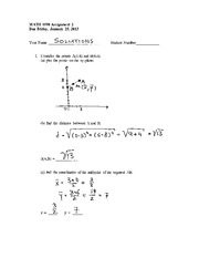 Math 1090 Homework Solutions (2)