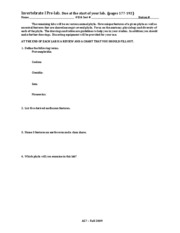 Invert 1 - prelab, worksheet, review, chart