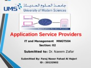 Application Service Providers.ppt