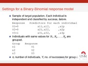 Deviance for Binary Data Notes