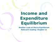 12income and expenditure equilibrium