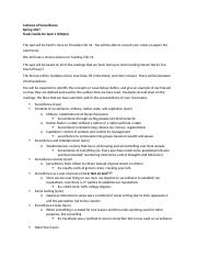 Quiz 1 Study Guide