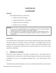 CHAPTER 6 LEADERSHIP.docx