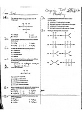 Orgo Review 1