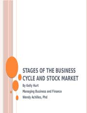 Stages of The Business Cycle and Stock Market.pptx