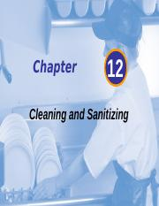 Chapter 12 Cleaning and Sanitizing - Hand-outs-2