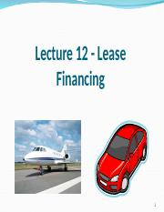 -LeaseFinancing