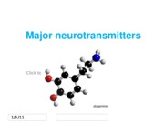 Handout - Lecture 3, part 2 - major neurotransmitter systems
