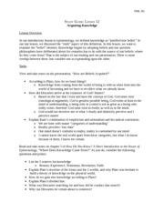 phil 201 lesson 4