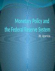 Te Fed and Monetary policy (3)