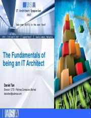 The Fundamentals of being an IT Architect.pdf