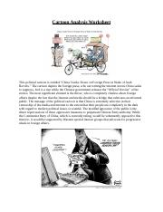 Cartoon Analysis Worksheet:Project.docx