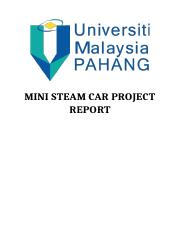 MICRO STEAM CAR PROJECT REPORT (1)