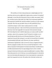 Essay 1 Example - Received an A