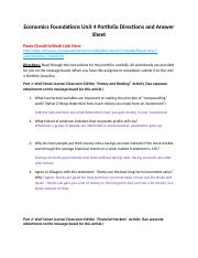 Economics Unit 4 Portfolio Directions and Answer Sheet (3).docx