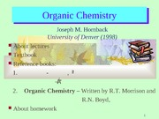 Chapter 1  chemical bonds