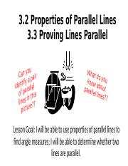 Properties of Parallel Lines & Proving Lines Parallel.pptx