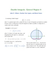 24-Double Integrals II