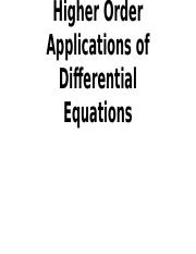 Higher Order Applications of Differential Equations.pptx