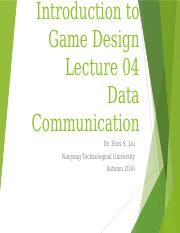 Lecture04 - Data Communication.pptx