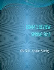 AVM3201-Exam I SP16 PA Review.pptx